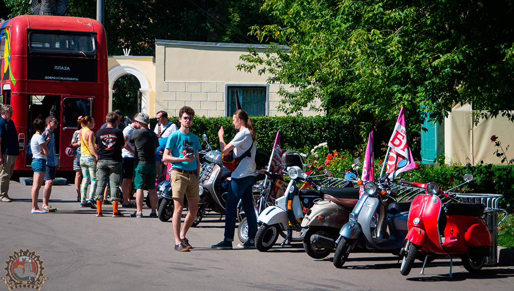 Moscow Vespa Club + St. Petersburg Vespa Club 60s collaboration